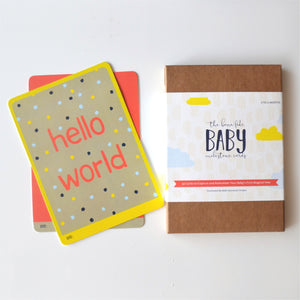 Baby Milestone Cards - TheArtsyBox