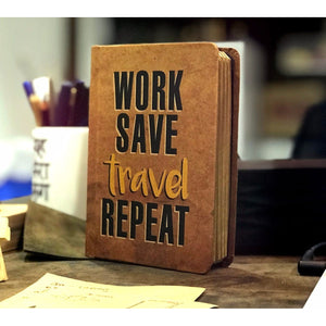 Work Save Travel Repeat - TheArtsyBox