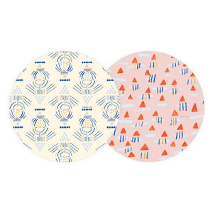Lines And Triangles Coaster - TheArtsyBox