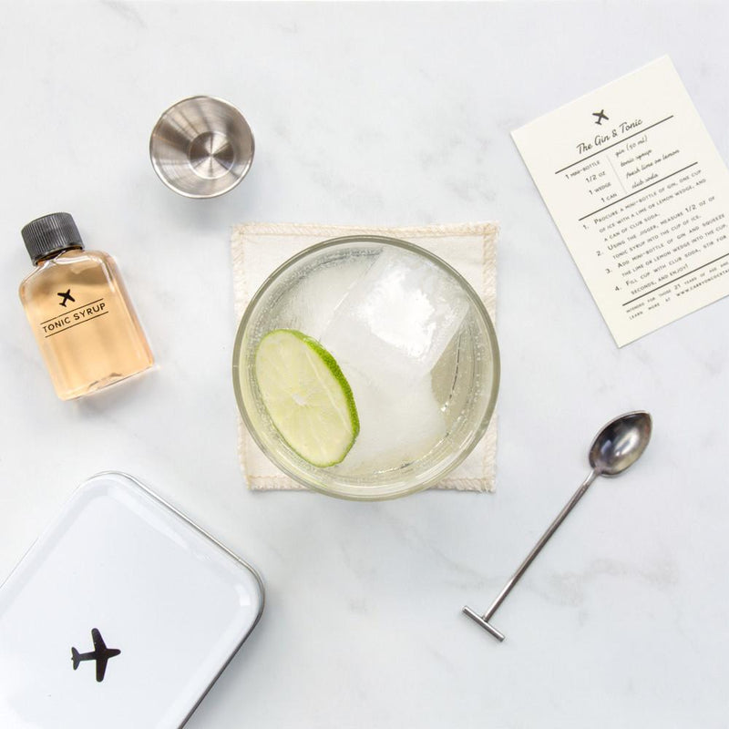 The Gin and Tonic Carry-On Cocktail Kit