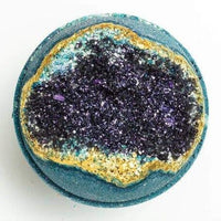 OBSIDIAN - Geode Bath Bomb - TheArtsyBox