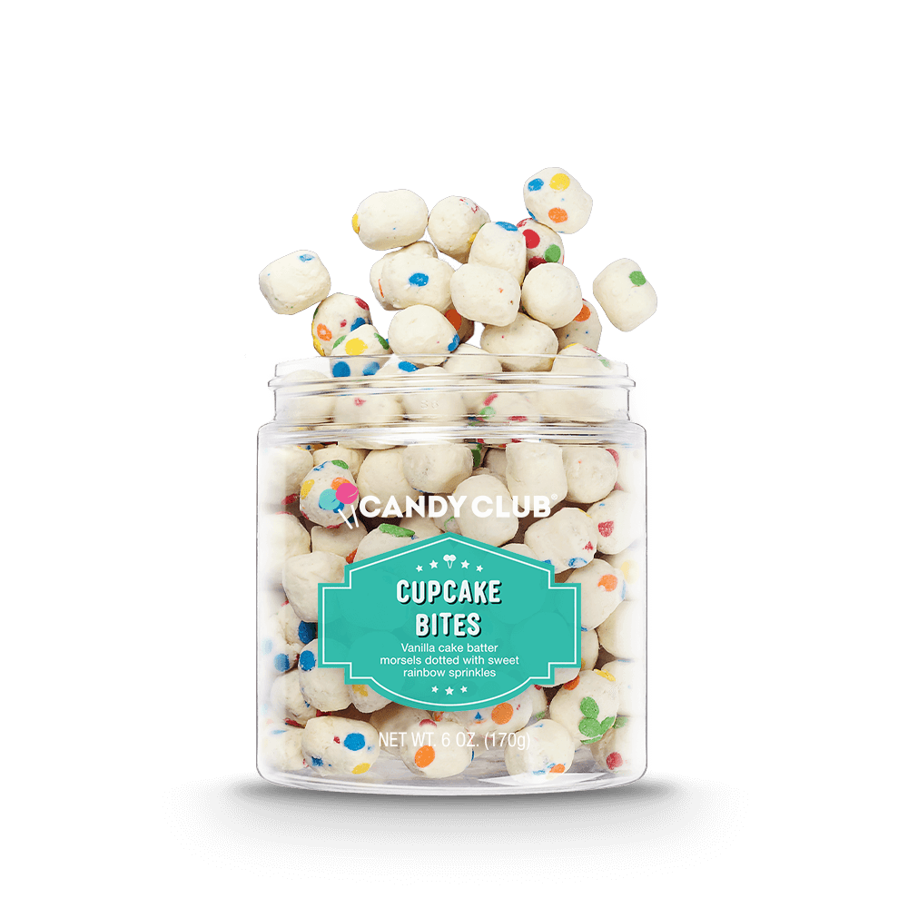 Cupcake bites in jar