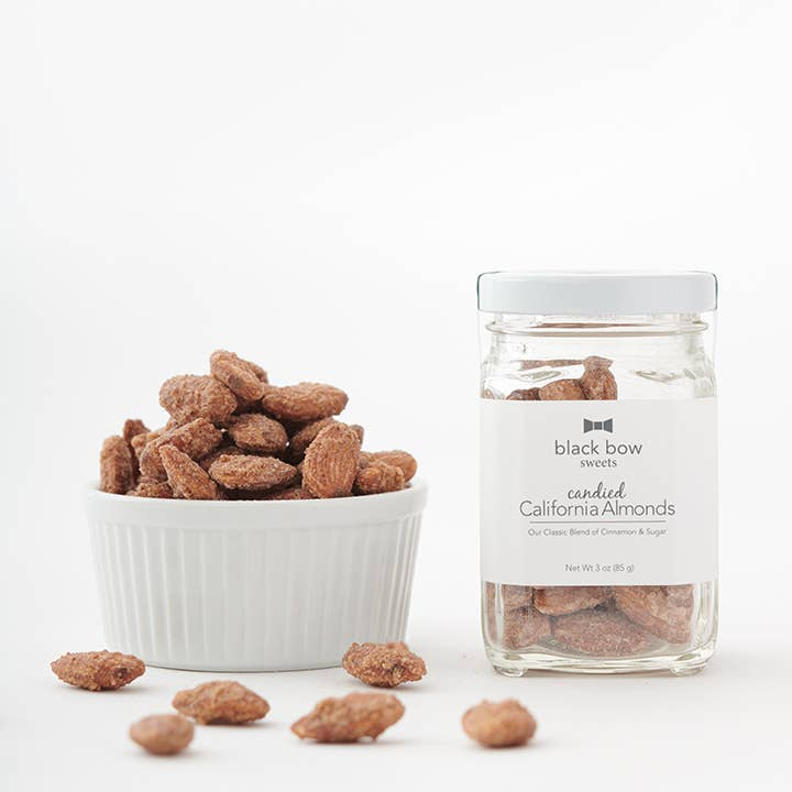 candied almond jar