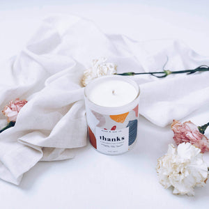 THANKS - Celebration Series Candles - TheArtsyBox