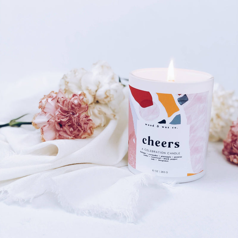 CHEERS - Celebration Series Candles - TheArtsyBox
