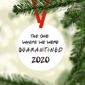 Quarantined Ornament