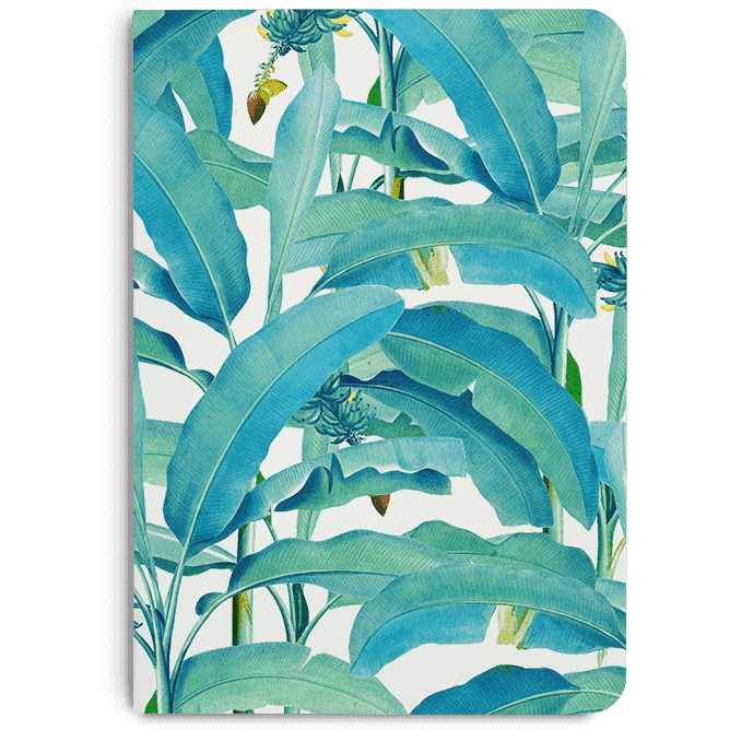 Banana Forest A5 Notebook Plain