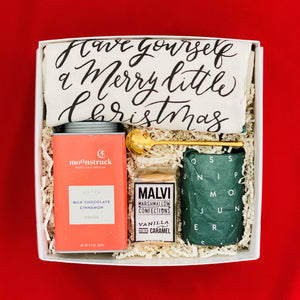 The festive gift box for holidays