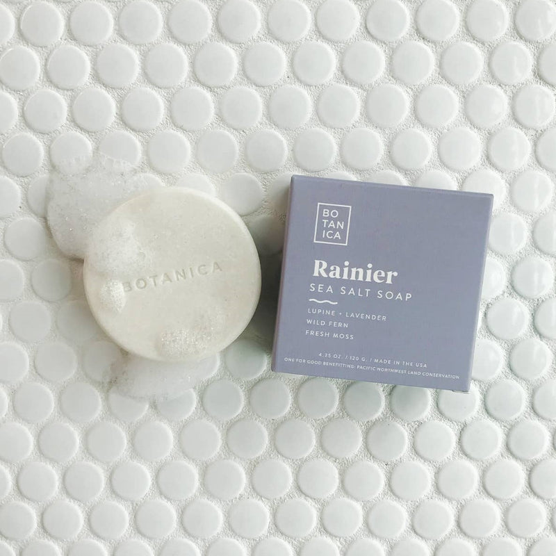 Rainier Sea Salt Soap By Botanica