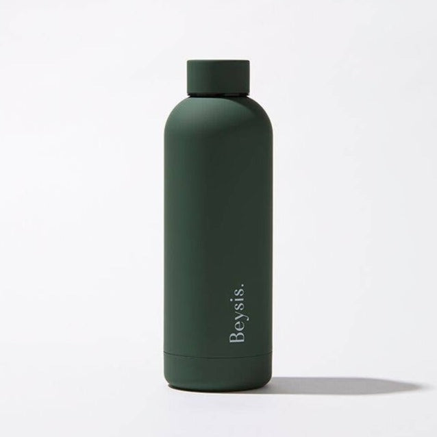 Beysis Stainless Steel Water Bottle - Olive Green