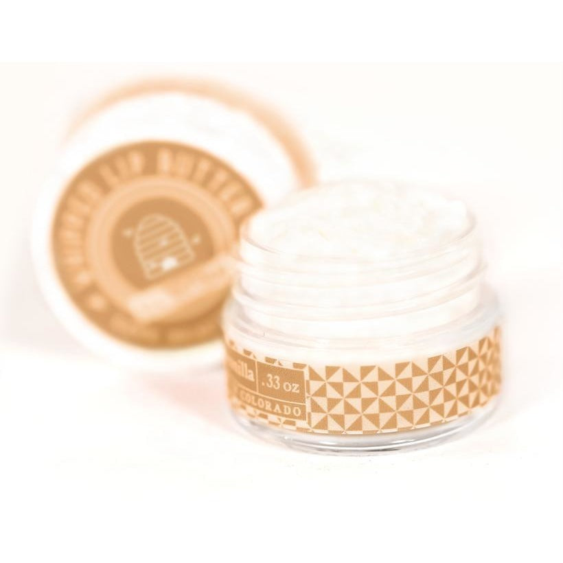 Honey & Vanilla - Whipped Lip Butter - Natural Icing for Your Lips