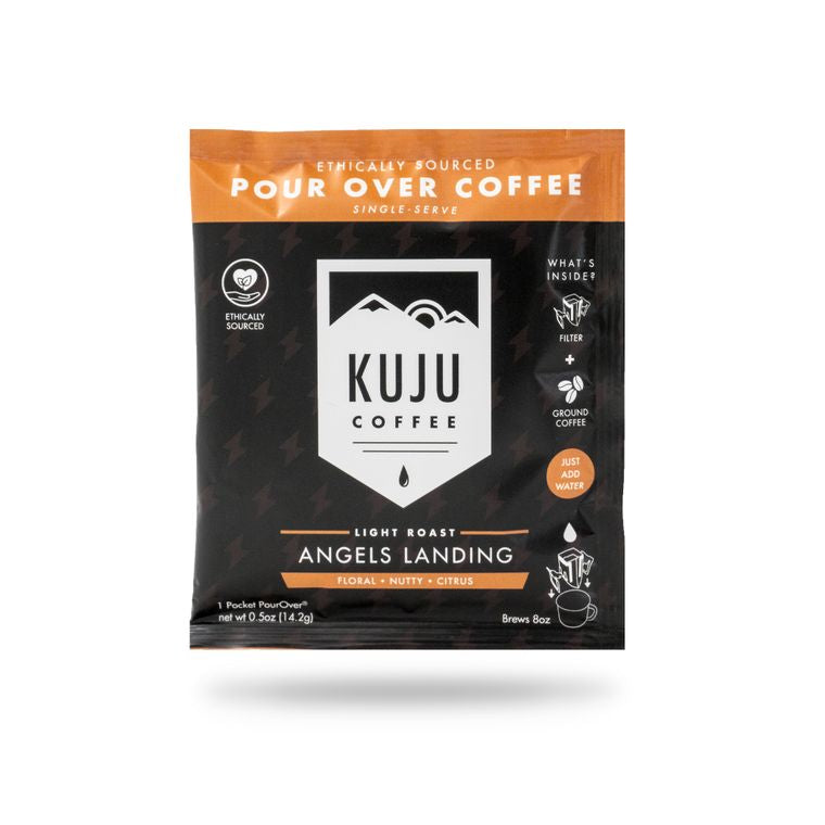 Angeles landing pour over coffee