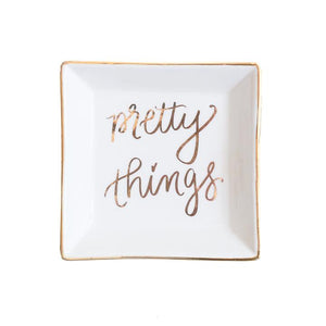 Pretty things Jewelry dish - TheArtsyBox