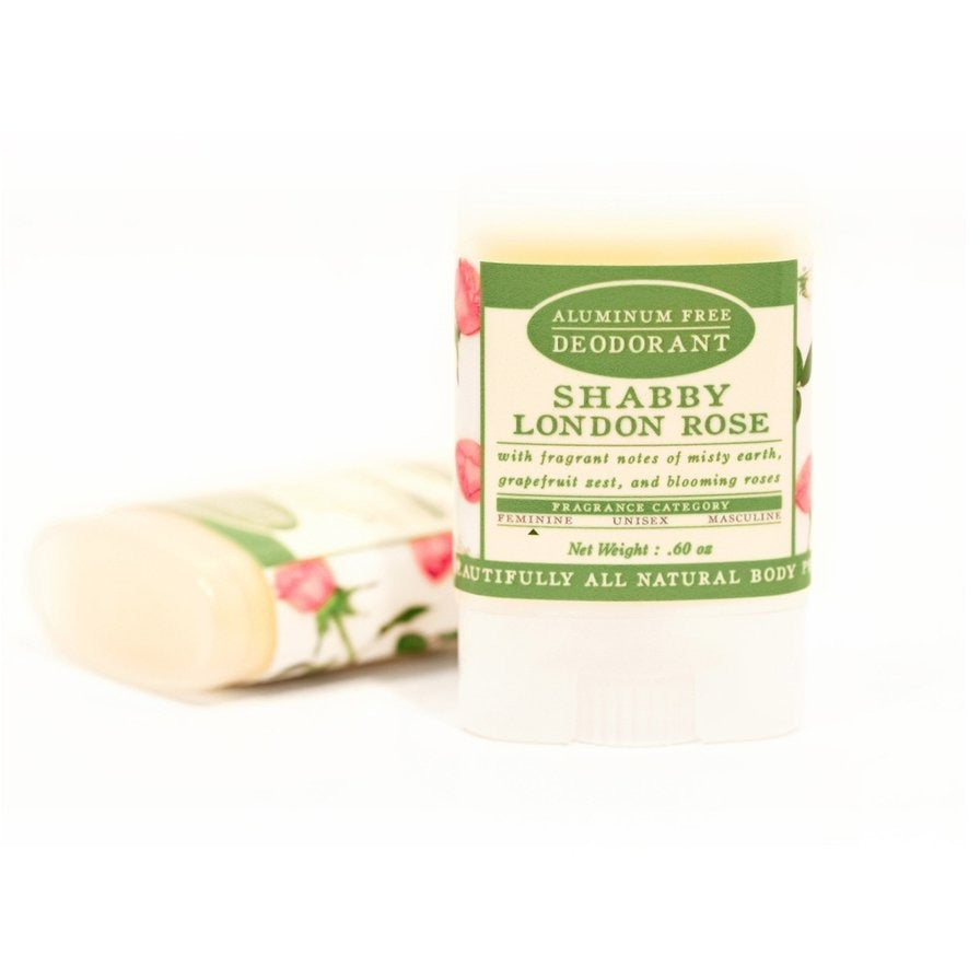 Shabby London Rose - Travel Size Natural Deodorant - Aluminum Free - TheArtsyBox