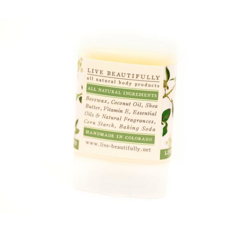 Shabby London Rose - Travel Size Natural Deodorant - Aluminum Free