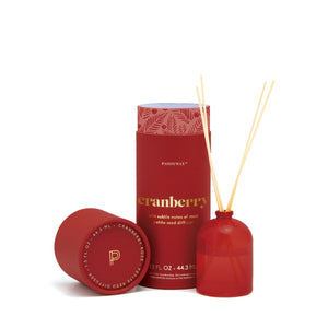 Cranberry petite reed diffuser