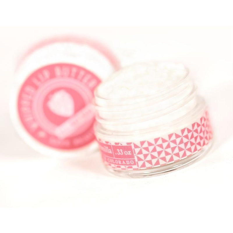 Strawberry & Vanilla - Whipped Lip Butter - Natural Icing for Your Lips