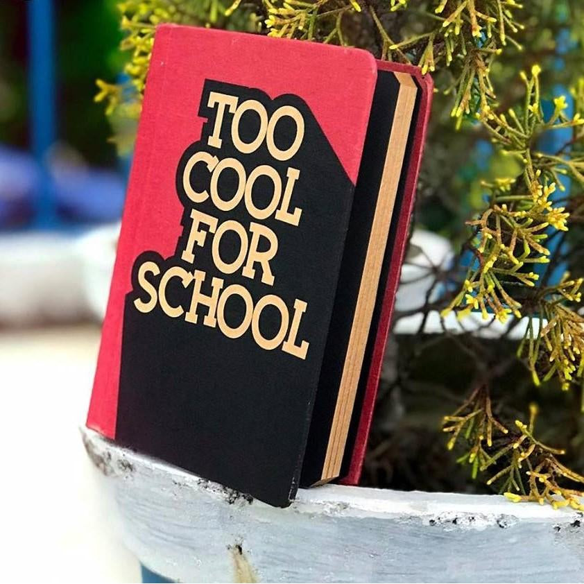 Too cool for school - TheArtsyBox