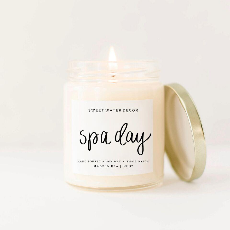 Spa Day Soy candle - 9oz - TheArtsyBox