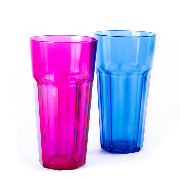 Vaso facetado PS 350cc x 1u.