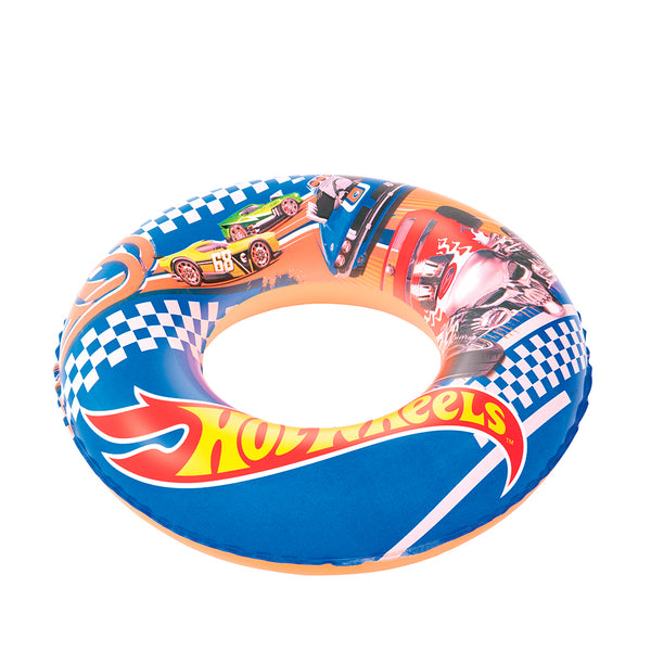 Salvavidas anillo hot wheels 56 cm x 1u.