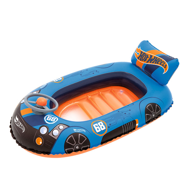 Bote inflable hot wheels 112 x 71 cm x 1u.
