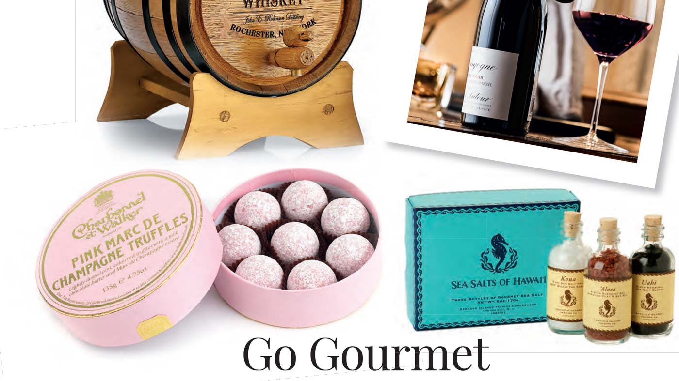 Hi Luxury: December 2014-January 2015 Gift Guide: Go Gourmet