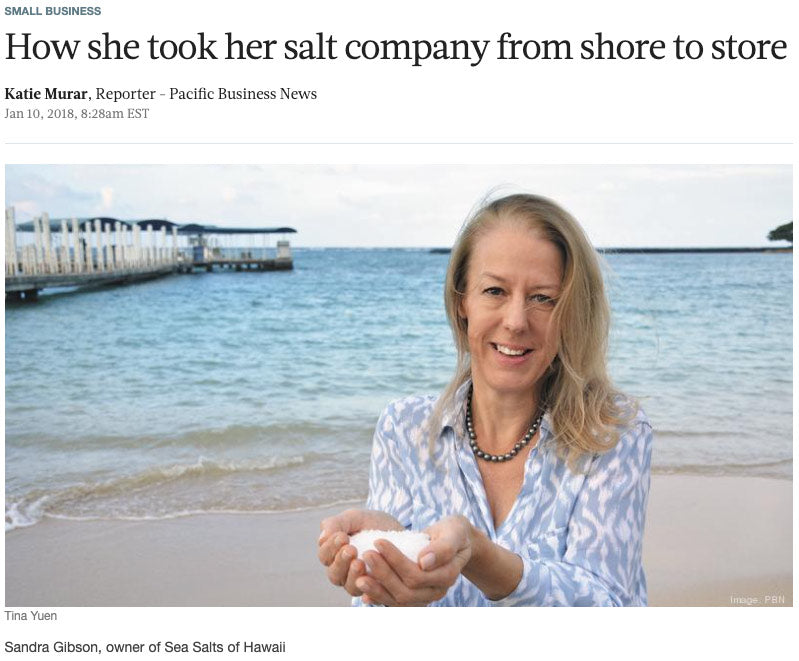 Biz Journals Salt Company from Shore to Store