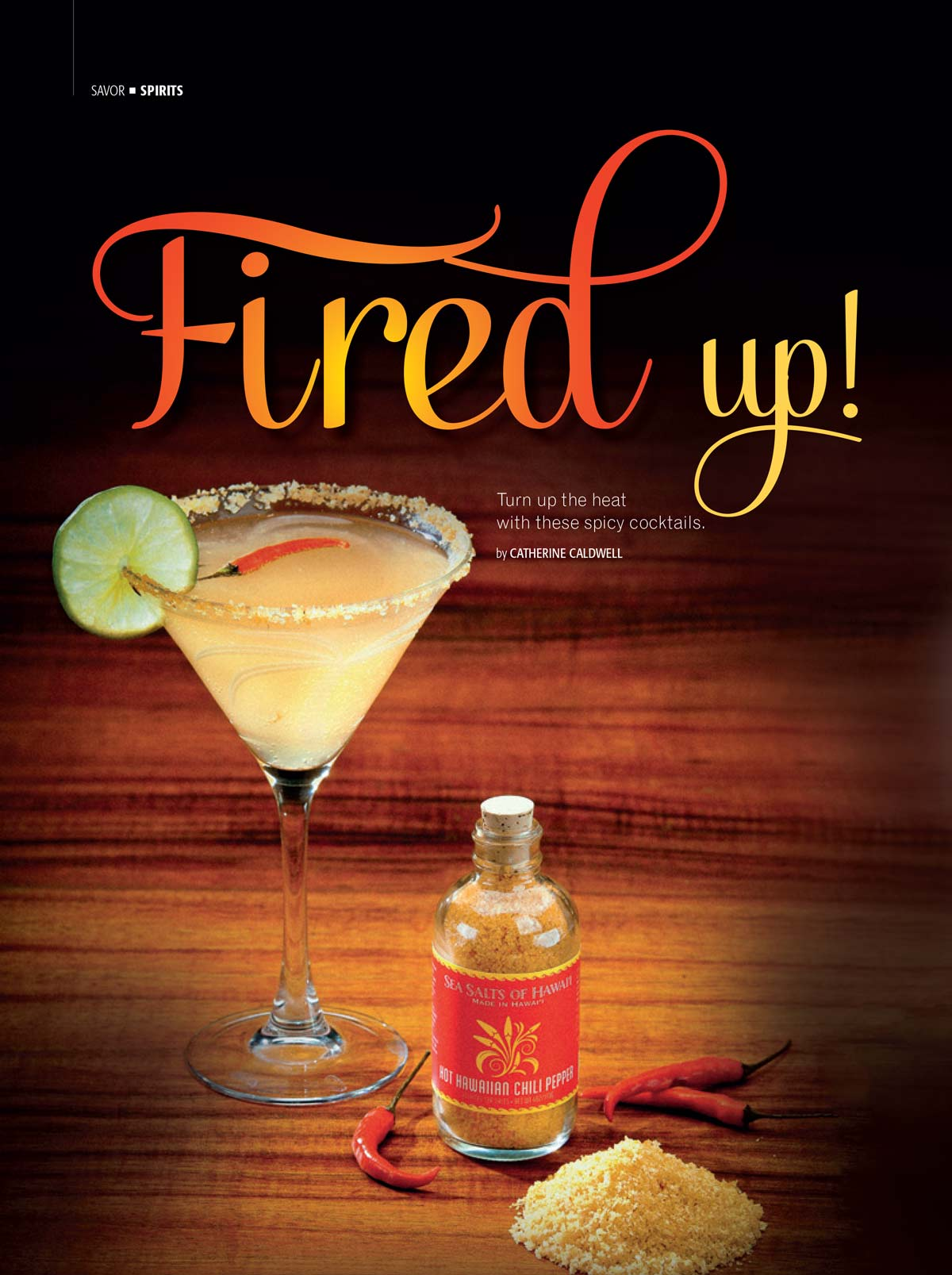 Fired Up Spicy Martini