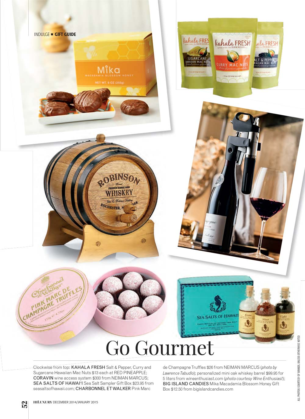 Hi Luxury Go Gourmet Sea Salts of Hawaii