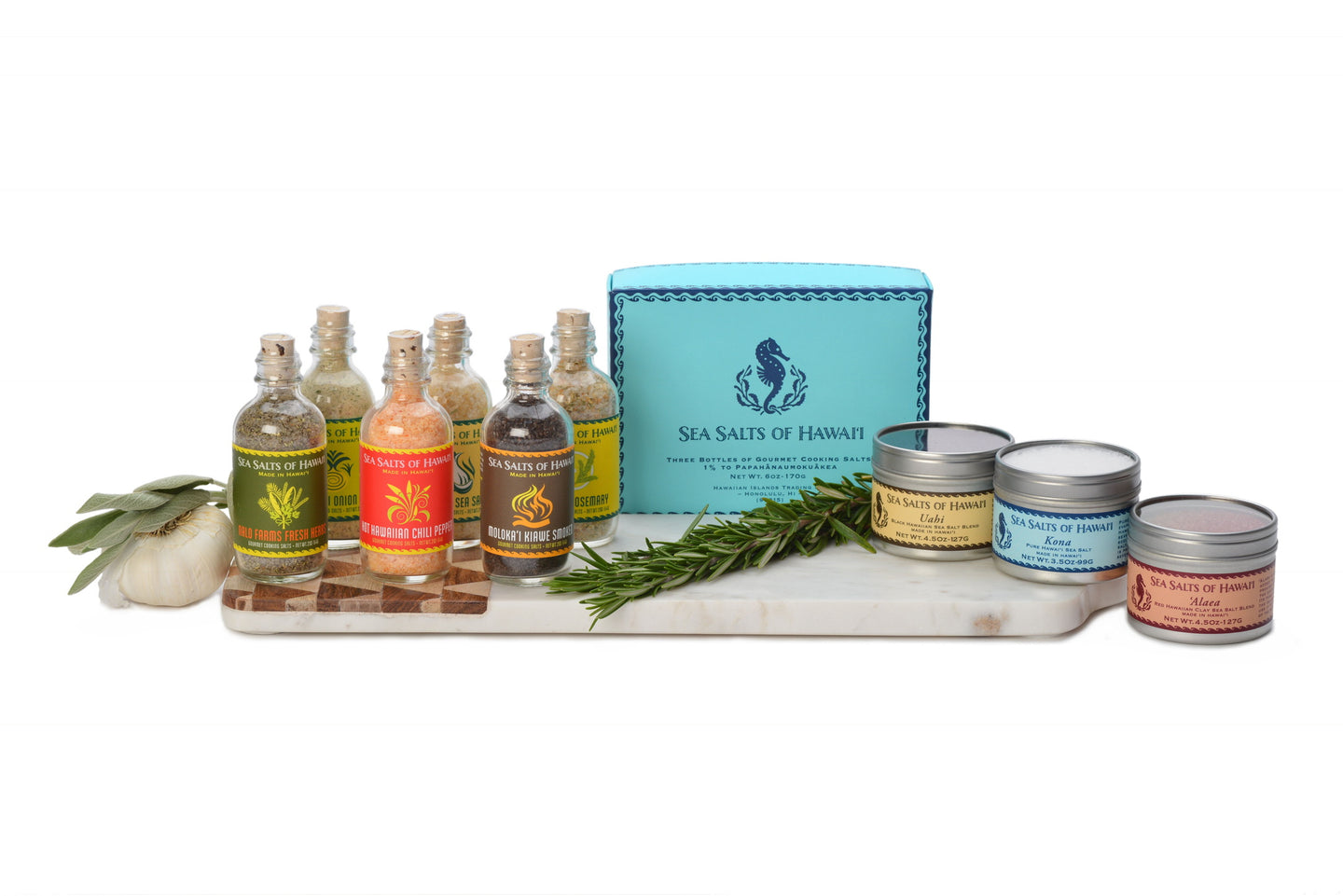 Hawaiian Sea Salts Gifts