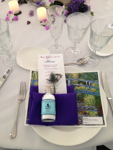 Hawaiian Salt Wedding Favor