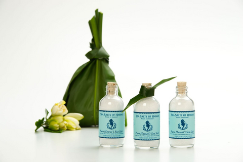 Pure Hawaiian Sea Salt Bottles Wedding Favors