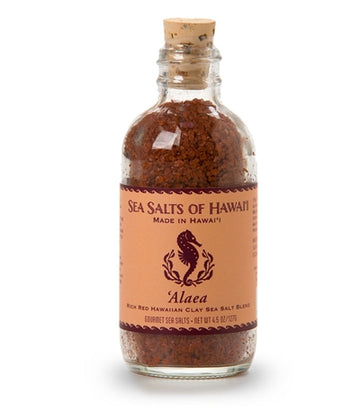 Alaea Rich Red Hawaiian Clay Sea Salt Blend - 4.5 ounce bottle