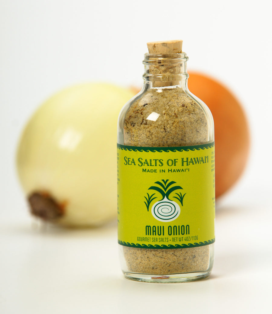Hawaiian Sea Salt Flavored with Maui Onion