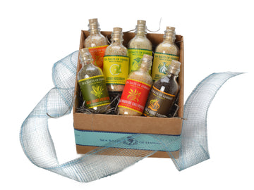 Complete Flavored Hawaiian Sea Salt Sampler Set