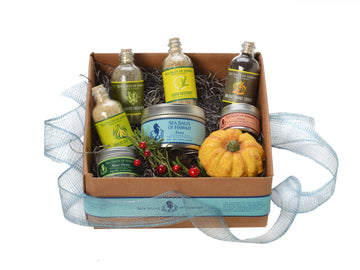 Fall Holiday Hawaiian Salt Gift Box