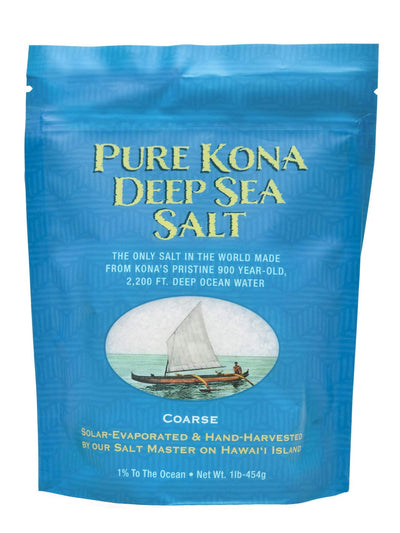 Pure Kona Deep Grinder Sea Salt 1lb