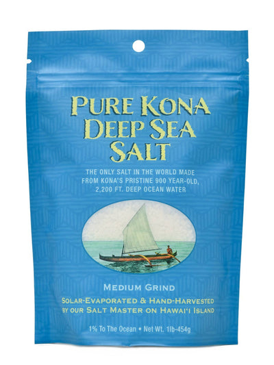 Pure Kona Deep Hawaiian Flake Sea Salt
