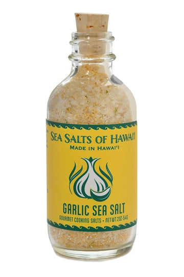 Gourmet Hawaiian Sea Salt with Garlic and Green Onion