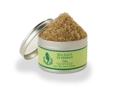 'Ohe Green Bamboo Hawaiian Sea Salt Blend - 4.5 ounce tin