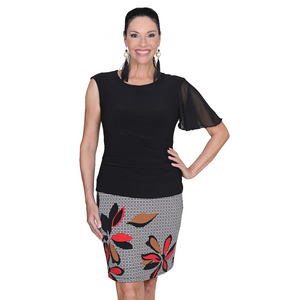 Black Attachable Flutter Sleeves-Black / One Size-Sleeves 2 Go