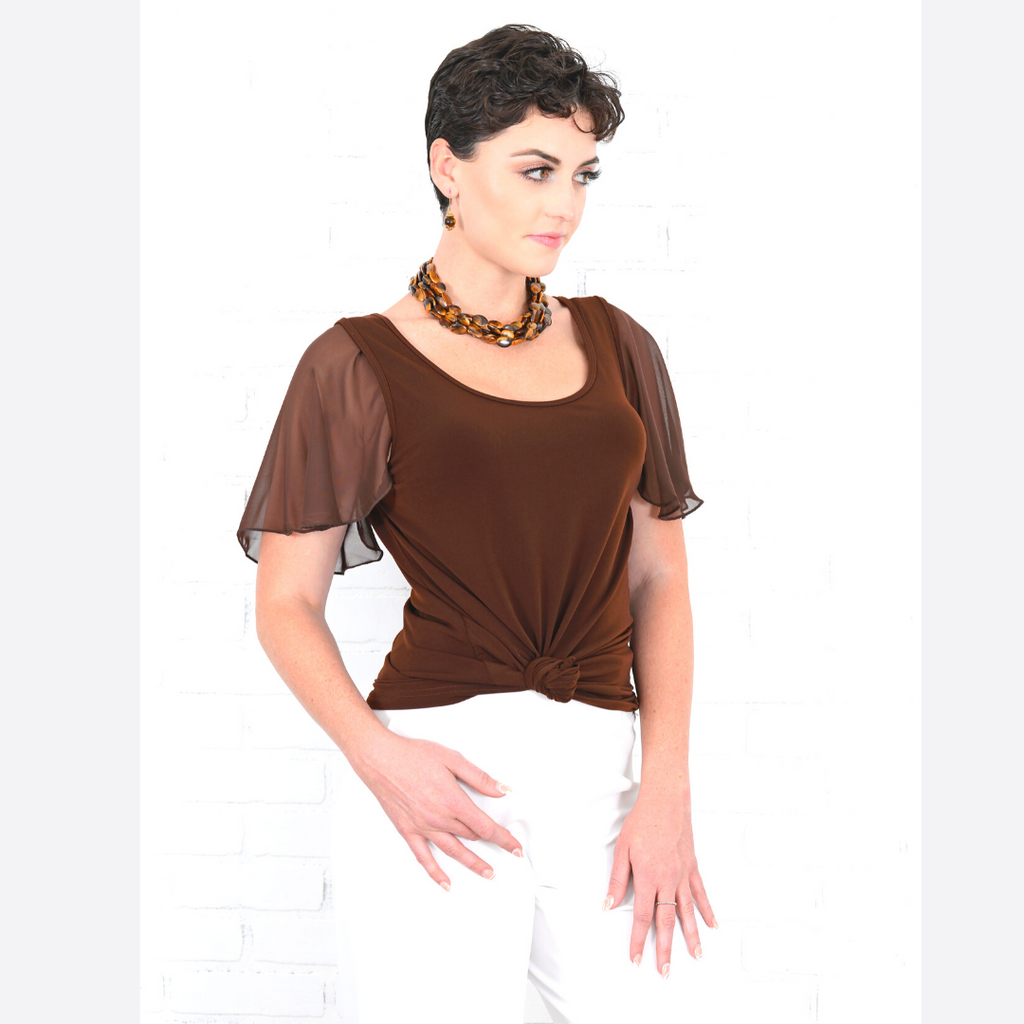 Chocolate Brown Attachable Sleeves--Sleeves 2 Go