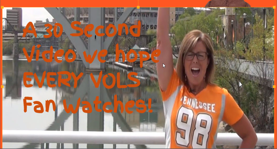A video we hope every VOLS fan will Watch
