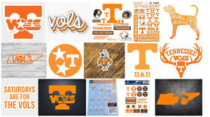 Tennessee Volunteers Stickers and Decals (Top 5 most popular)