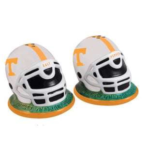 Large Tennessee Vols Football Helmet Salt and Pepper Shakers