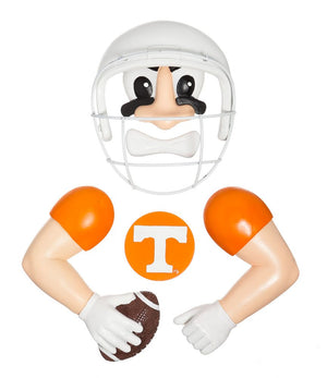 TN Vols NCAA Football Player Tree Statue