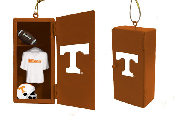 Tennessee Vols Football  Team Locker Christmas Ornament