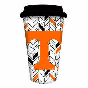 Tennessee Vols Ceramic Travel Coffee Mug