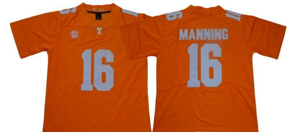 Men's Tennessee Volunteers Peyton Manning #16 Orange Jersey